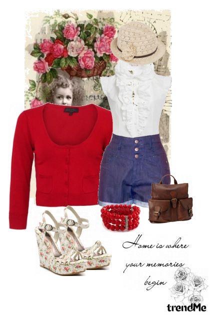 rose iz kolekcije Proljeće/Ljeto 2011 od DoraDorica