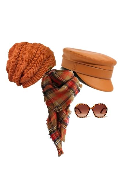 шапка осень