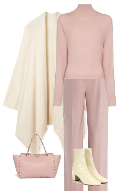 розовая пастель