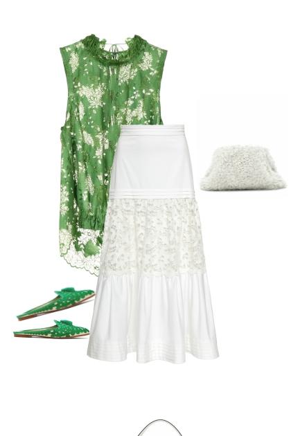 зеленая роса