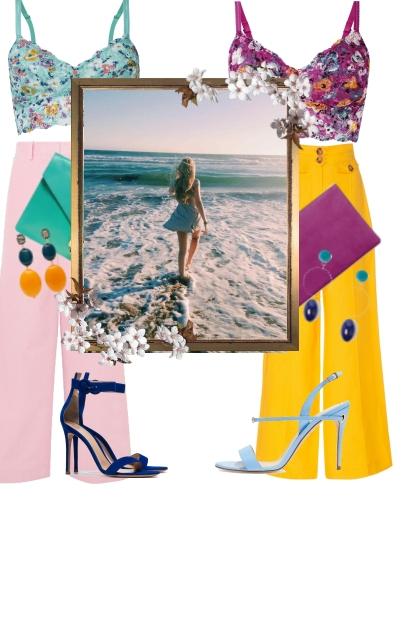 Floralstic Vibes- Fashion set