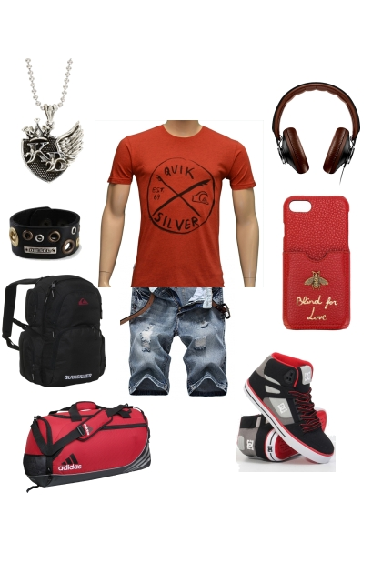 Nilo Ader Book Character Casual