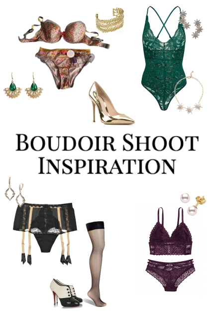 Boudoir What To Wear