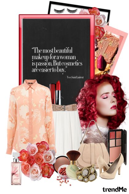 The Power of Cosmetics- Fashion set