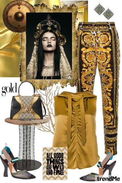 Golden Futurism