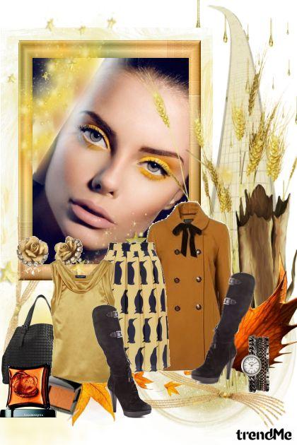 Pod Plaštem od zlatno-rumenih boja....