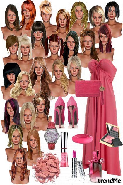 Kosa-nije bitna ni dužina ni boja-važno da je haljina  Lei.Lou. kroja