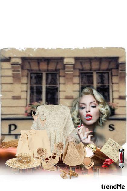 Tournée d'été à Paris- Fashion set