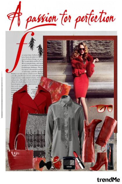 Perfection in Red....- Fashion set