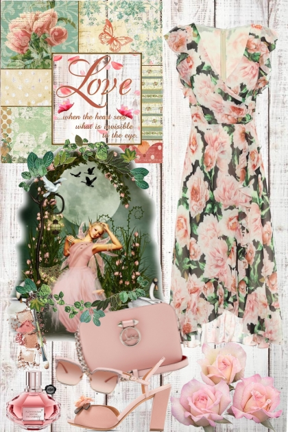 I love pink- Fashion set