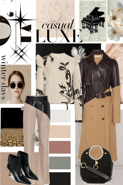 casual luxe winter
