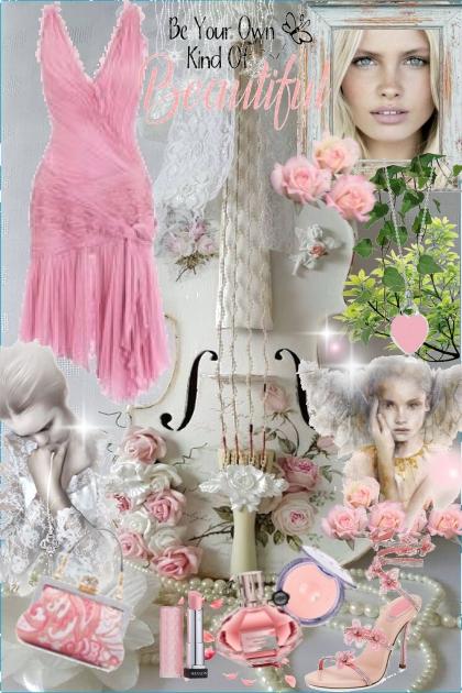 beautiful pink- Fashion set