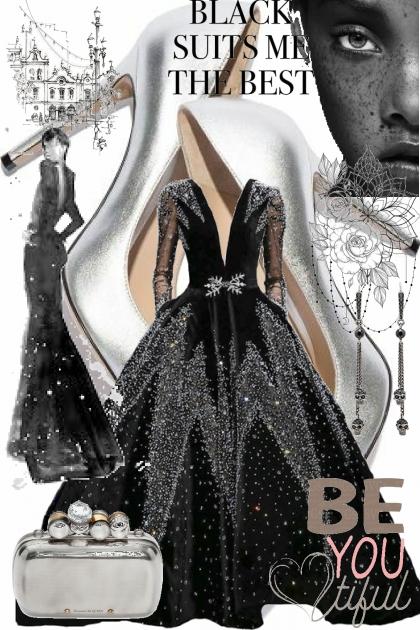 black marvelous- Modna kombinacija
