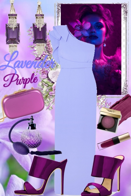Lavender and purple