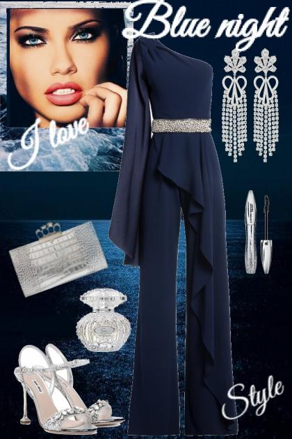 Blue night style
