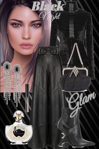 Black night glam
