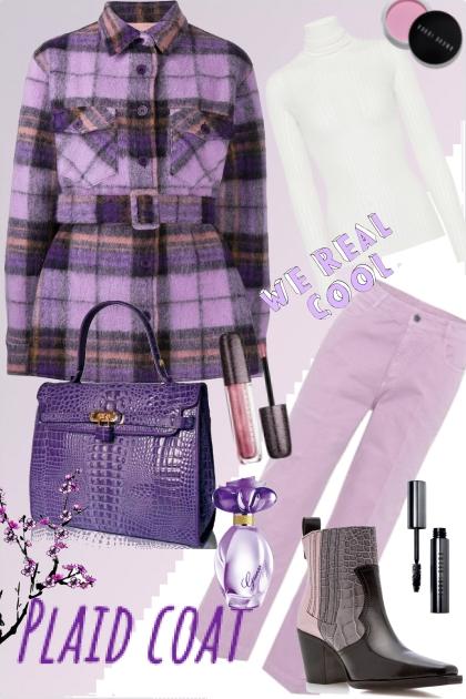 plaid coat II