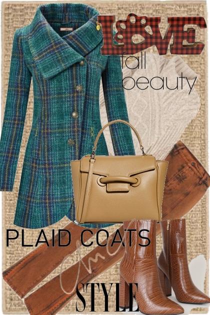 Love plaid coats