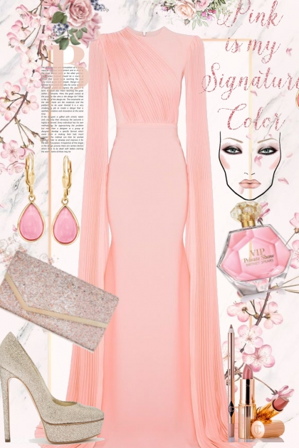 pink is my signature color- Kreacja