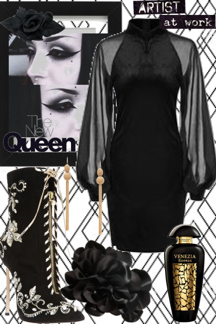 The new queen- Kreacja