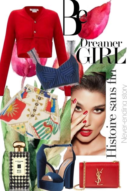 Be a dreamer girl