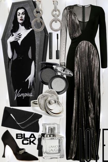 I love black- Fashion set