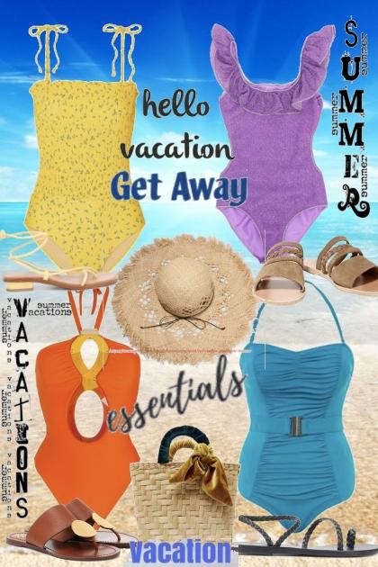 Essentials vacations- Combinaciónde moda