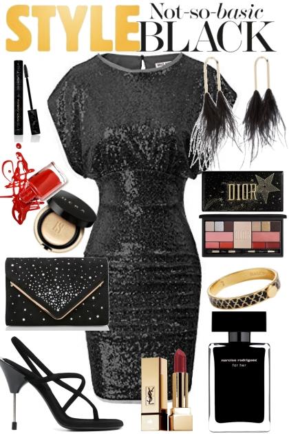 Black not so basic style