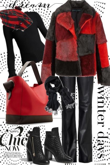 Winter days dream- Combinaciónde moda