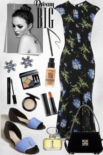 How to wear a flower dress
