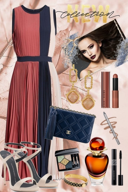 Colorblock dress1
