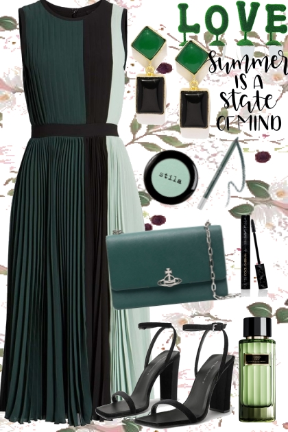 Colorblock dress2