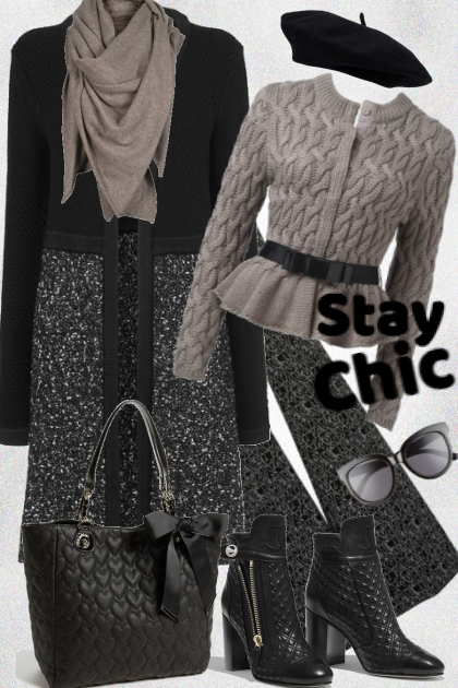 Stay chic in winter