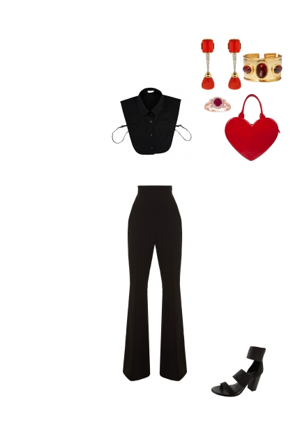 Red&Black- Fashion set
