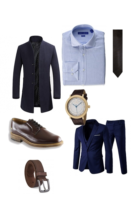 Menswear winter outfit