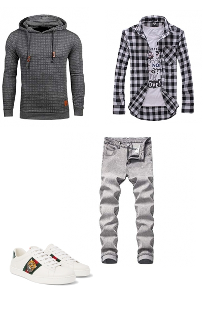 Casual men outfit