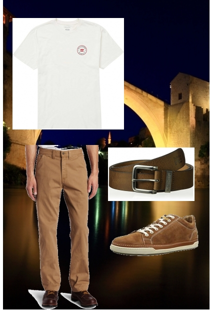 Casual menswear outfit