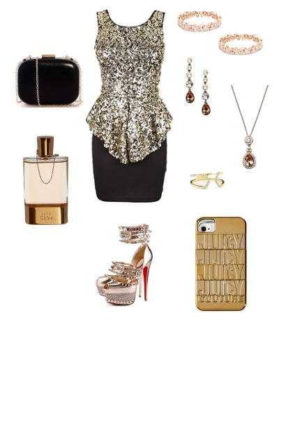 NEW YEARS EVE OUTFIT #1