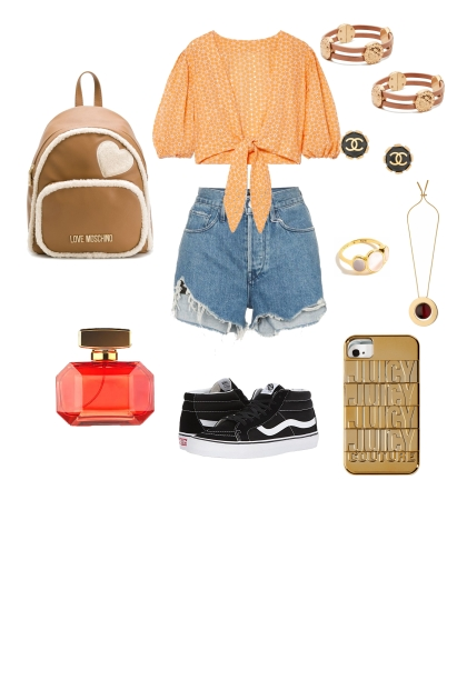 ORANGE OUTFIT #2