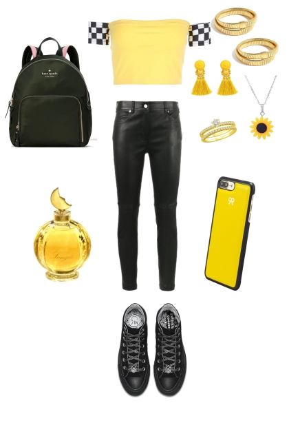 YELLOW OUTFIT #1- Fashion set