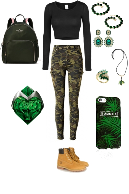 GREEN OUTFIT #1