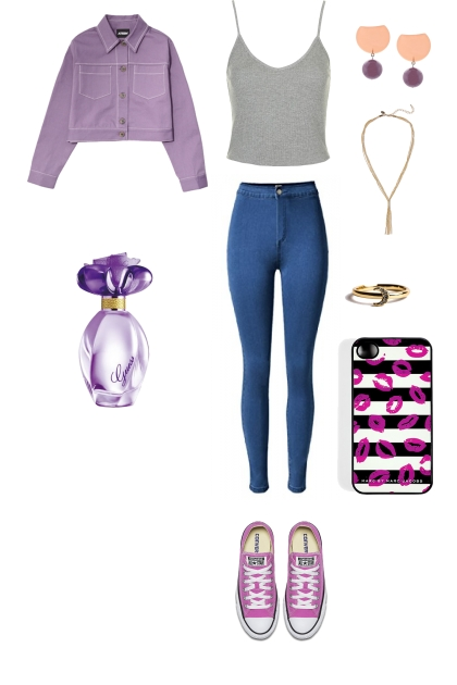 PURPLE OUTFIT #1