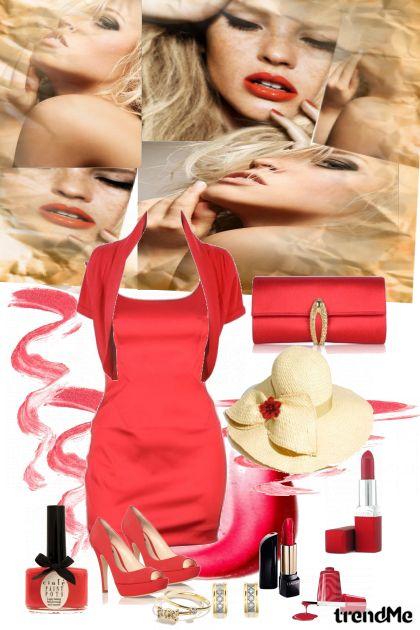 paixao pelo vermelho- Fashion set