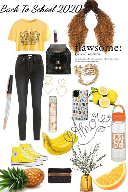 Back To School 2020/Yellow aesthetic