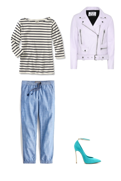 relaxed stripe