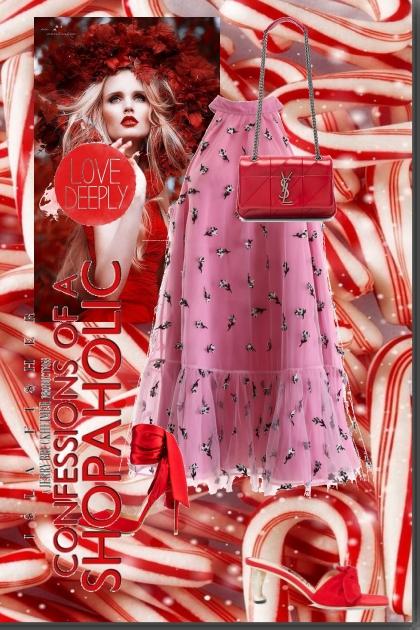 Red- Fashion set