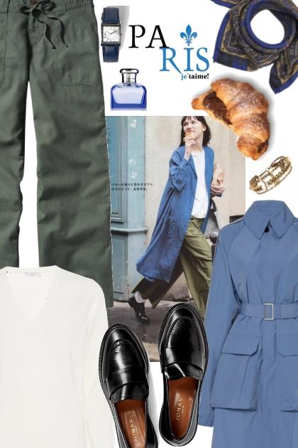 #2 Inspiration: Paris in Blue