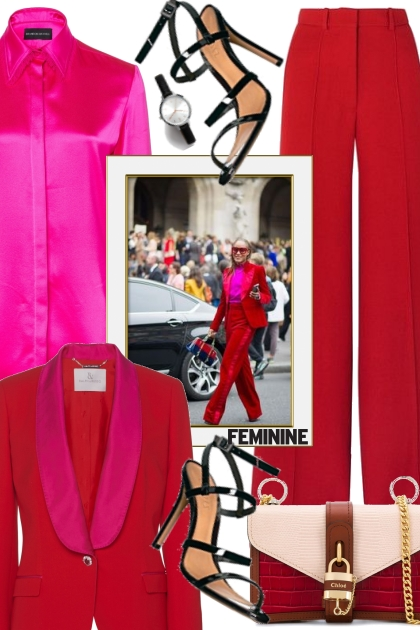 #6 Inspiration: Red and Fuchsia