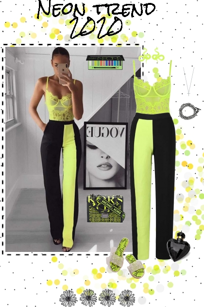 Fashion Trend 2020: Neon Lime Green