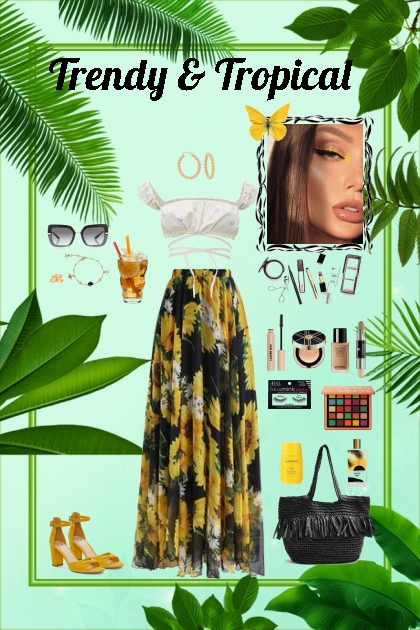 Fashion Trend 2020: Tropical Prints